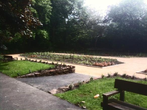 new sunken garden june 2012