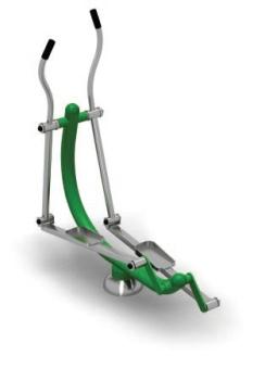 green gym skier