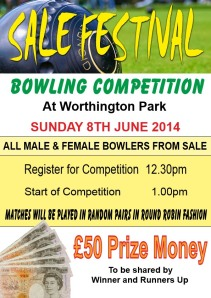 bowling comp poster