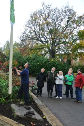 GreenFlagRaisingand bulbplanting25102014 002